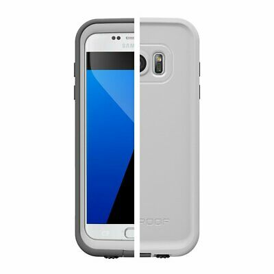 NEW Lifeproof Fre Waterproof Protective Case for Samsung Galaxy S7 - Gray White