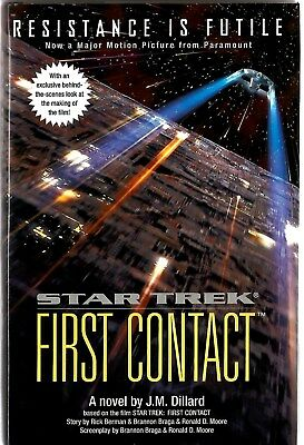 Star Trek first Contact by J.M. Dillard (Hardback) First edition 1996