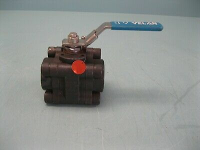 "1-1/2"" Velan Socket Weld WCB 3-Piece VTP-2000 Ball Valve NEW H14 (2457)"