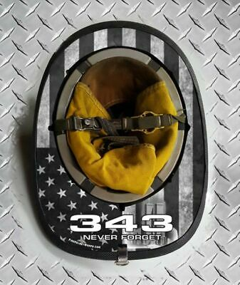 343 Old USA Never Forget Fire Helmet Wrap
