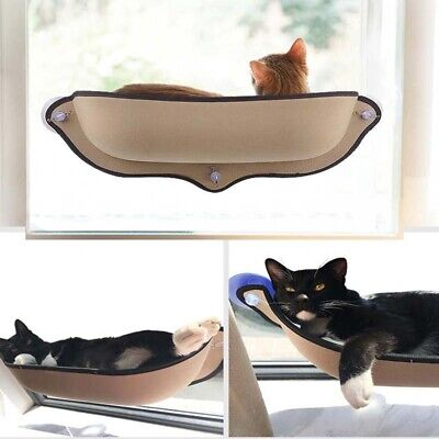 Cat Hammock Window Lounger Suction Cups Warm Bed For Pet Cat Rest House Soft UK