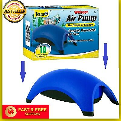 Tetra Whisper Quiet Powerful Air Pump Flow Water Fish Tank System up to 10 gal