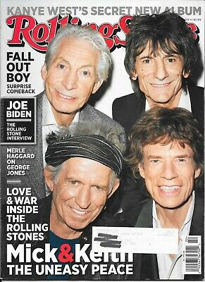 Rolling Stone Magazine-The Rolling Stones Cover-May 2013-Free Ship In Canada