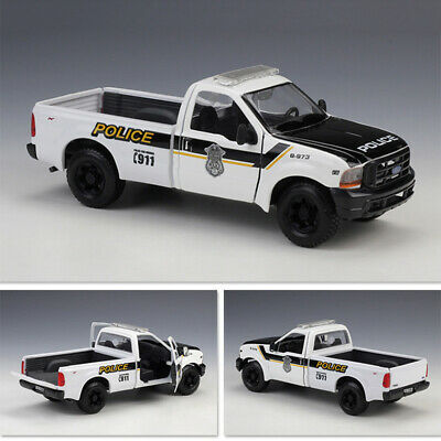 Ford Mustang F-350 Super Duty Police Pick-up Car 1999 Maisto 1:24 Scale Model