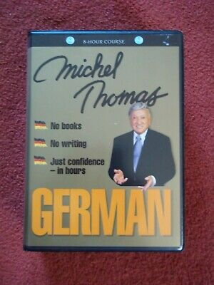 GERMAN complete course learn with Michel Thomas (8 hours on 8 audio CD's)