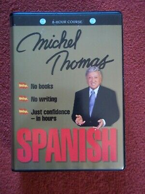SPANISH complete course learn with Michel Thomas (8 hours on 8 audio CD's)