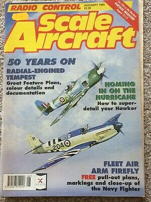 RC SCALE AIRCRAFT  AUG SEPT   1995 13  free plan FAIREY FIREFLY40 3/4 IN WING