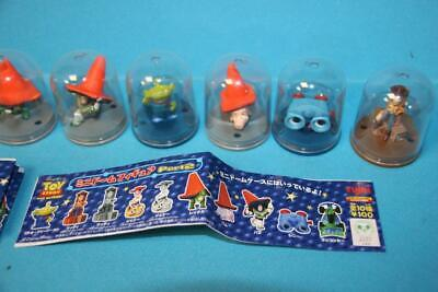 Yujin Disney Gashapon TOY STORY figure SET mini DOMES 8
