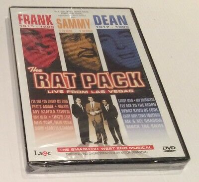 The Rat Pack - Live From Las Vegas - The West End Musical DVD BRAND NEW & SEALED