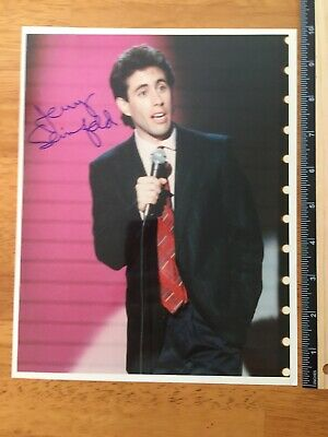 Coa Jerry Seinfeld Authentic Coa Hand Signed Autograph -A Collectors Must Have