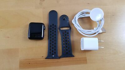 Apple Watch 2 Nike+ 38mm Space Gray Aluminum Case Anthracite/Black Sport Band