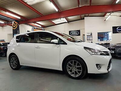 2013 63 Toyota Verso 2.0 D-4D Excel 5Dr Diesel White 7 Seater