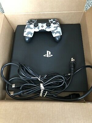 Used - Barely Used - PlayStation 4 Pro 1TB Console - Black