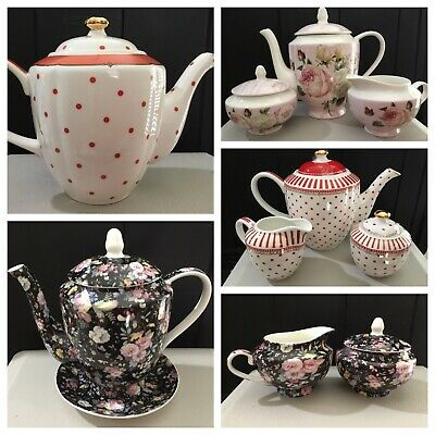 Grace's Teaware or Stechol Teapot /  Set- Choice of One