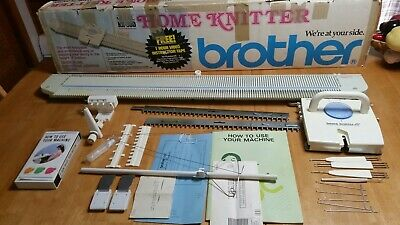 Brother knitting machine KX-350 Complete Nice!
