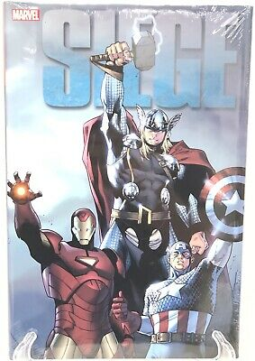 Siege Deluxe Brian Michael Bendis Asgard Marvel Comics Hard Cover HC New Sealed