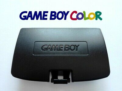 Cache Piles pour Game Boy Color NEUF couleur Noir / Battery Cover Black