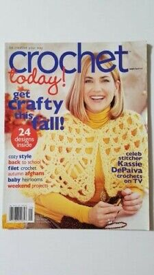 CROCHET TODAY! - September/October 2007-- Back Issue (Out of Print)
