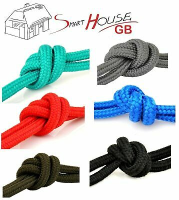 6mm Braided Polypropylene Plaited Poly Rope Cord Yacht Boat Sailing Camping