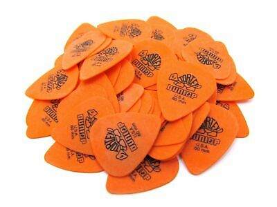 Dunlop Guitar Picks  Tortex   72 Pack  .60mm  Orange  Light  (418R60)