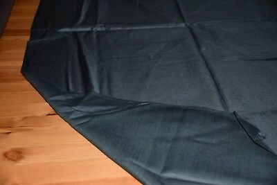 Old Fabric Gray Approx. 150 x 80 cm Never Used