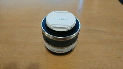 Nikon 1 NIKKOR 10-30mm f/3.5-5.6 AS VR SIC IF Lens(White) New, no packaging