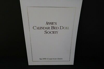 1991 Annie's Calendar Bed Doll Society Collector's Series Crochet Dress Patterns