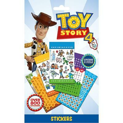Toy Story 4 800pc Sticker Set