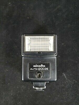 Minolta Auto 200X Flash Shoe Mount