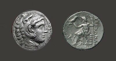 Ancient Coin Kingdom of Macedon Silver Tetradrachm Alexander III, the Great 17g
