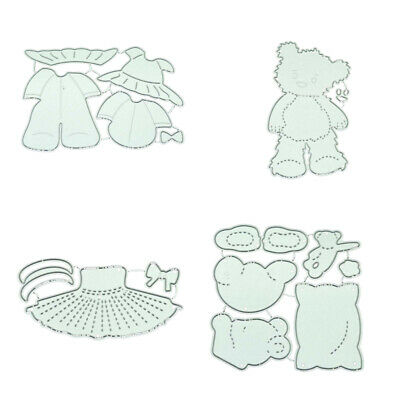 Bear Lace Metal Cutting Dies Stencils DIY Scrapbooking Paper Card Craft