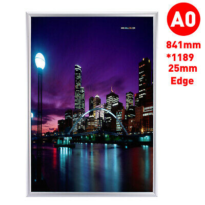 A0 Size Snap Board Advertising Poster Frame Stand Holder Notice Wall Display
