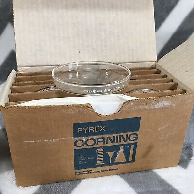 9 Corning 3160-100BO Glass Pyrex Petri Dish Dishes Bottoms 100x10 mm Bottom