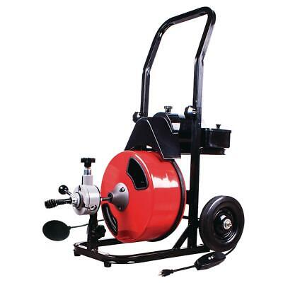 50 foot drain cleaner with power feed harbor freight
