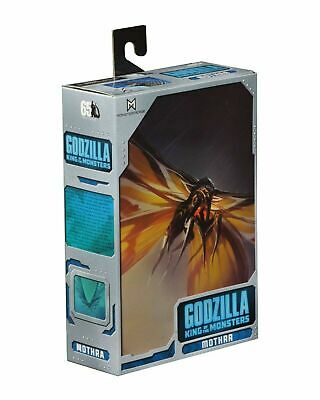 Godzilla The King of The Monsters MOTHRA 2019 Movie Action Figure Ultimate NECA