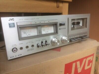 JVC KD-10B Vintage Stereo Cassette Deck - In Original Box - Made In Japan