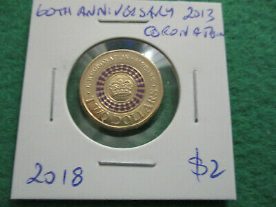 30th Anniversary of the $2 coin 2013 60th Anniversary of Coronation - 2018