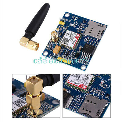 SIM800C Development Board Quad-band GSM GPRS Bluetooth Module w/Antenna inm