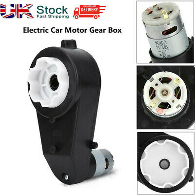 6/12V Electric Motor Gear Box 8000-30000RPM 58mm For Kids Ride On Car Bike Toy