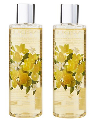 2x Yardley English Freesia Luxury Body Wash 250ml