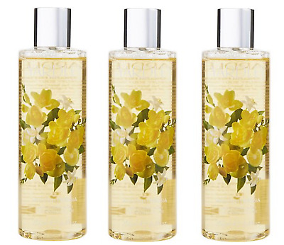 3x Yardley English Freesia Luxury Body Wash 250ml