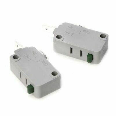2Pcs KW3A Microwave Oven Door Micro Switch 16A 125V/250V Normally Open Switch j