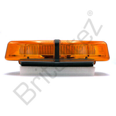 LED Light bar, AMBER, Strobe, 36W, Like Britax, Woodway, Ecco, Redtronic