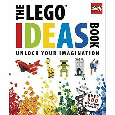 The Lego Ideas Book: Unlock Your Imagination - Hardcover NEW Lipkowitz, Dani 201