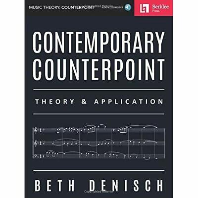 Contemporary Counterpoint:­Theory & Application - Mixed media product NEW Denisc