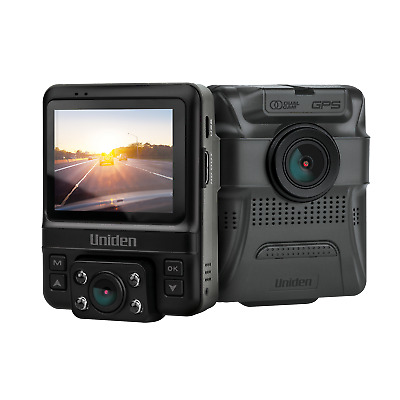 Uniden iGOCAM 55 Dashcam Dual Video (Front+Rear) FULL HD - Ideal for Uber/Taxi