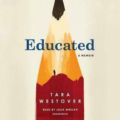 Educated: A Memoir by Tara Westover (English) Compact Disc Book Free Shipping!