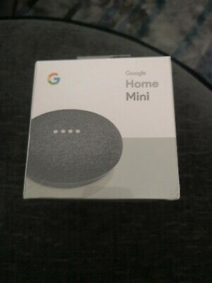 Google Home Mini Smart Assistant - Charcoal Brand new!