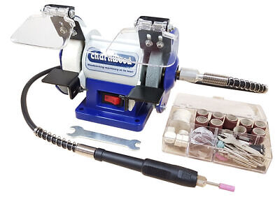 "CHARNWOOD BG3	3"" Bench Grinder / Polisher with Flexible Drive"