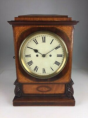 Antique Double Fusee bracket clock For Restoration